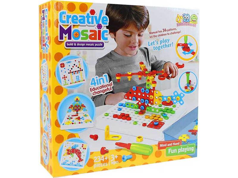 Конструктор Veila 3D Creative Mosaic 4 в 1 3337