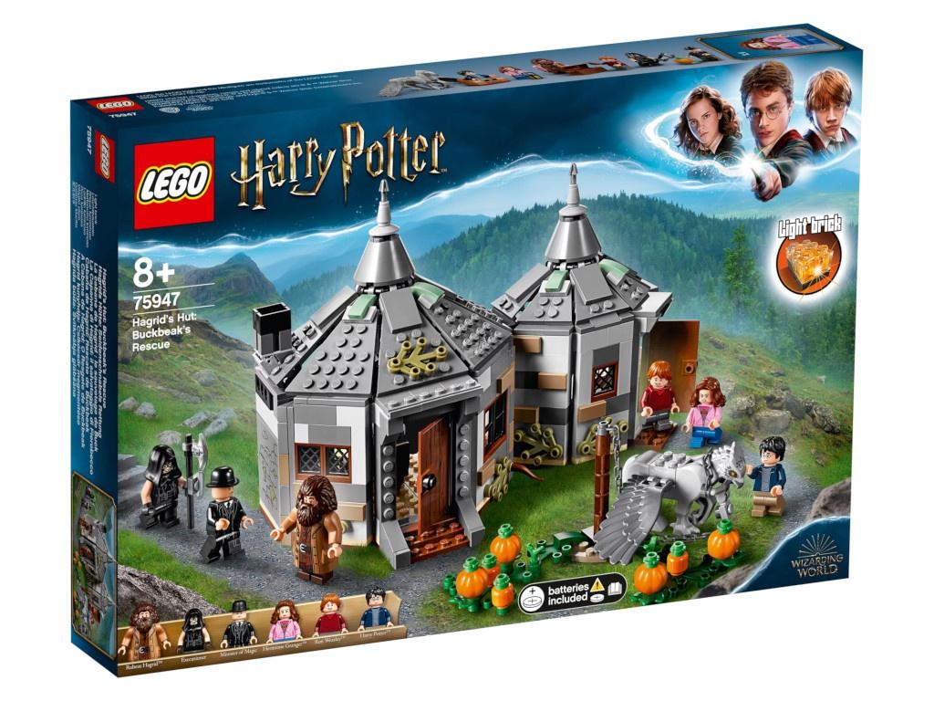 Конструктор Lego Harry Potter Хижина Хагрида: Спасение Клювокрыла 75947