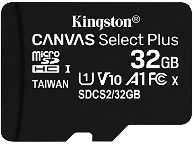 Фото - Карта памяти 32Gb - Kingston Micro Secure Digital HC Class10 UHS-I Canvas Select SDCS2/32GBSP карта памяти micro securedigital 32gb kingston canvas select plus sdhc class 10 uhs i sdcs2 32gb sd адаптер