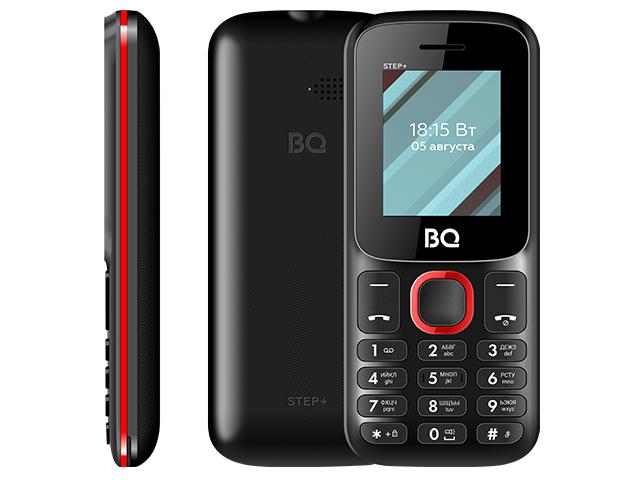 Сотовый телефон BQ 1848 Step+ Black-Red сотовый телефон bq 3590 step xxl black green