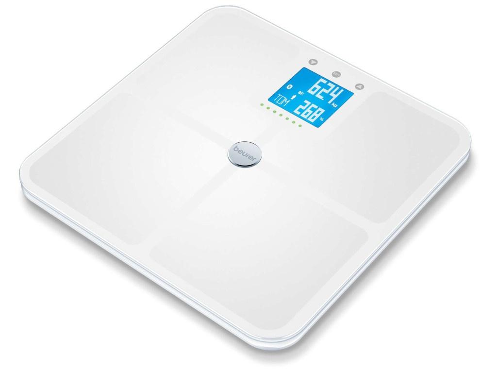 Весы напольные Beurer BF950 White 749.11 весы напольные электронные beurer bf950 макс 180кг белый