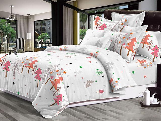 Купить Постельное белье Бояртекс Комплект 2 спальный 2020-3 Акварель-поплин 3708476