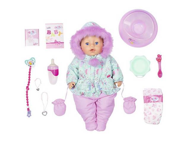 Кукла Zapf Creation Baby Born Интерактивная Зимняя 43cm 827-529  - купить со скидкой