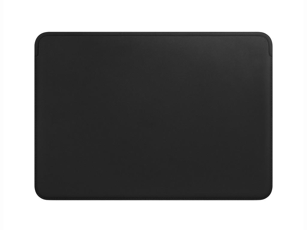 Аксессуар Чехол 15-inch APPLE Leather Sleeve для MacBook Pro Black MTEJ2ZM/A
