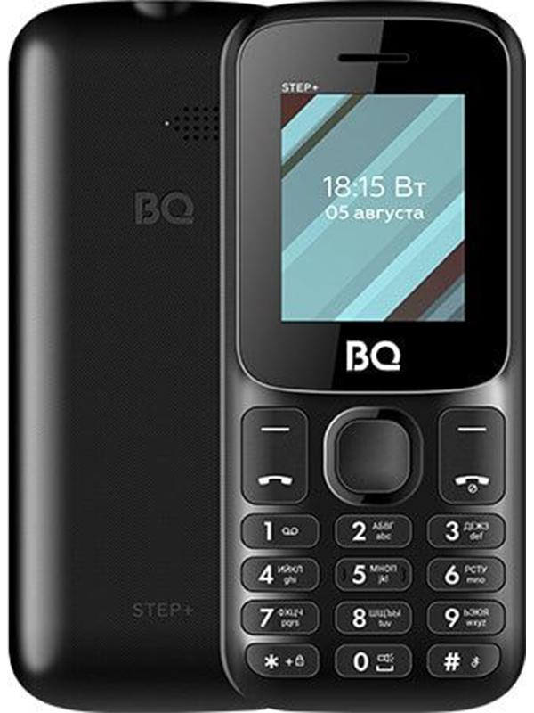 Сотовый телефон BQ 1848 Step+ Black сотовый телефон bq 3590 step xxl black green