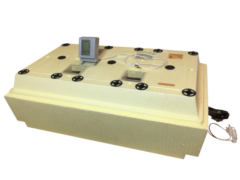 Инкубатор Золушка 2020 ИК 98-220 98/50 ячеек, автоматический поворот, ЖК дисплей