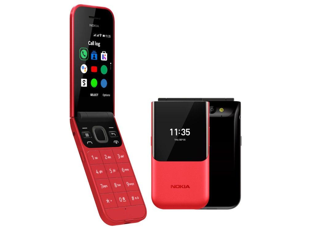 Сотовый телефон Nokia 2720 Flip Dual sim Red