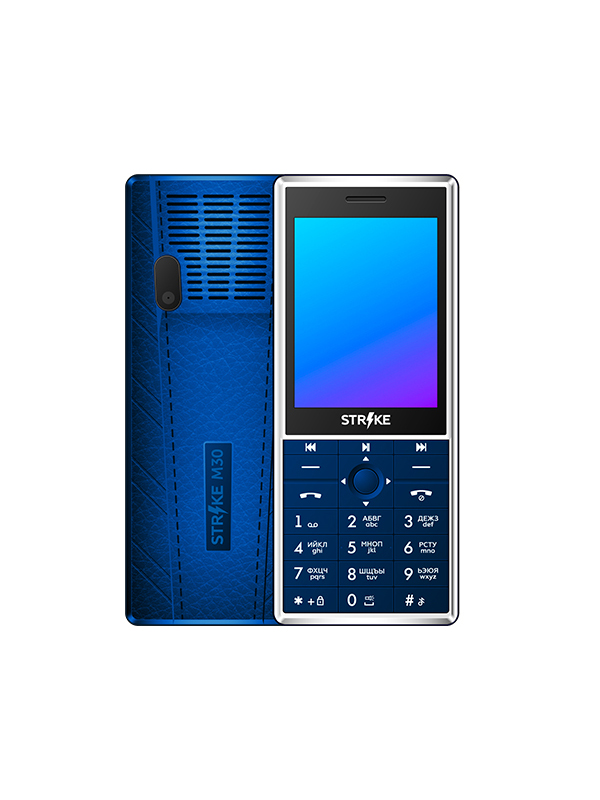 Сотовый телефон Strike M30 Blue
