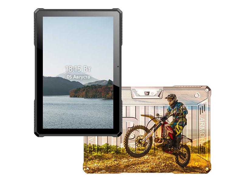 Планшет BQ 1022L Armor Pro LTE+ Print 09 (Spreadtrum SC9832E 1.4 GHz/2048Mb/16Gb/LTE/Wi-Fi/Bluetooth/GPS/Cam/10.1/1280x800/Android)