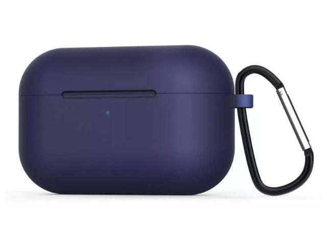 Чехол Zibelino для APPLE AirPods Pro Silicon Case Blue ZCCWC-AIR-PRO-BLU