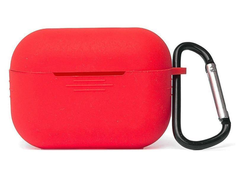 Фото - Чехол Zibelino Silicon Case Red ZCCWC-AIR-PRO-RED чехол joyroom jr bp598 для apple airpods pro red