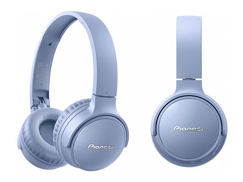 Наушники Pioneer SE-S3BT-L Blue