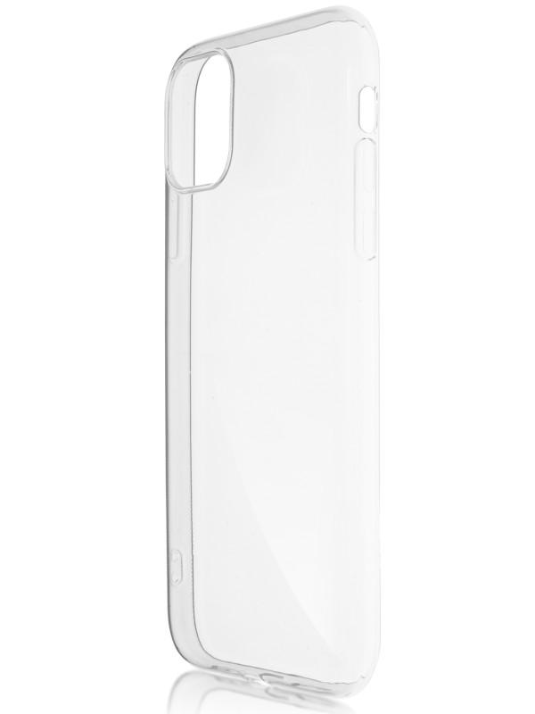 Чехол Brosco для APPLE iPhone 11 Silicone Transparent IP11-TPU-TRANSPARENT