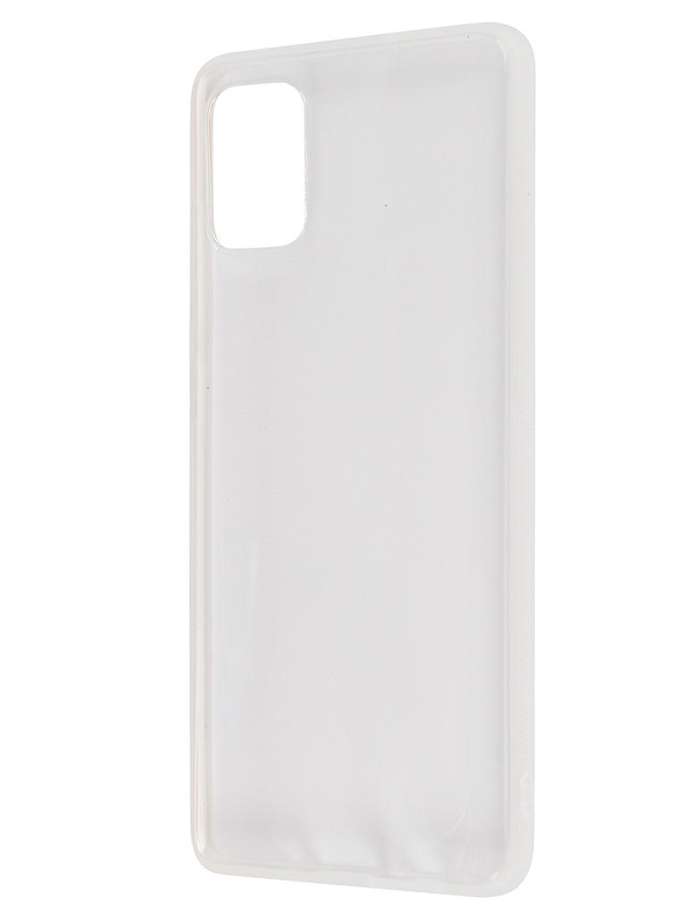 Чехол Brosco для Samsung Galaxy A51 Silicone Transparent SS-A51-NEWTPU-TRANSPARENT  - купить со скидкой