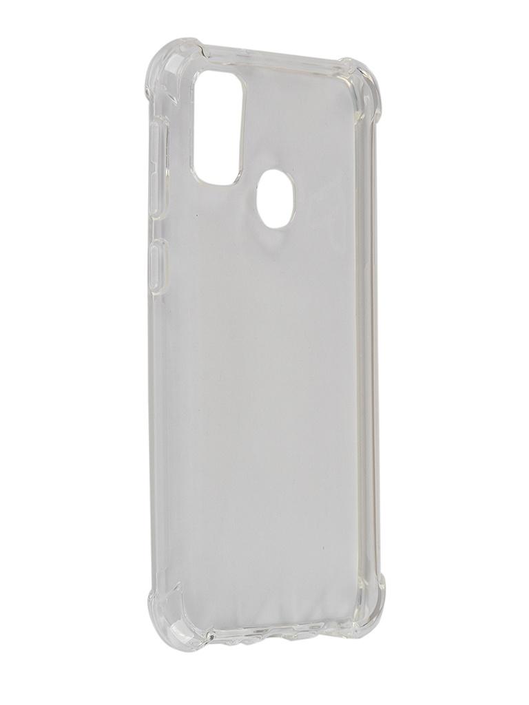 Чехол Brosco для Samsung Galaxy M30S Silicone Transparent SS-M30S-HARD-TPU-TRANSPARENT