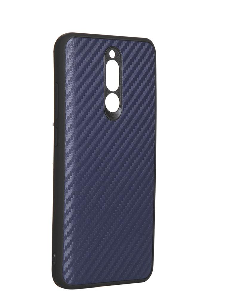 Чехол G-Case для Xiaomi Redmi 8 Carbon Dark Blue GG-1186