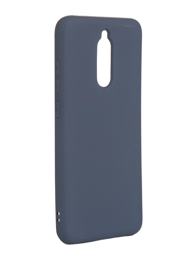 Купить Чехол Neypo для Xiaomi Redmi 8 Silicone Case 2.0mm Dark Blue NSC15674