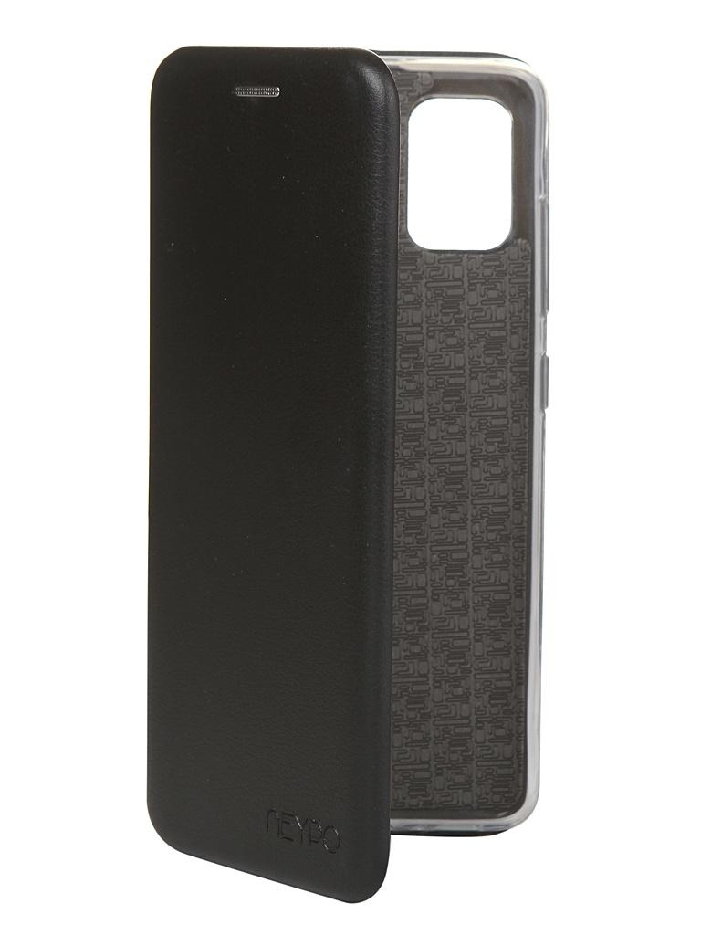 Чехол Neypo для Samsung Galaxy A51 2020 Premium Black NSB16223 чехол neypo для samsung a51 2020 silicone case black nsc16312