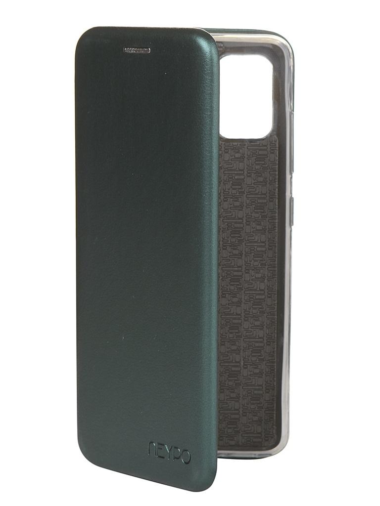 Чехол Neypo для Samsung Galaxy A51 2020 Premium Dark Green NSB16222