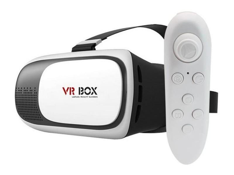 Фото - Очки виртуальной реальности VR box 3D Virtual Reality Glasses 2.0 + VR box Bluetooth Gamepad 2.0 очки виртуальной реальности smarterra vr