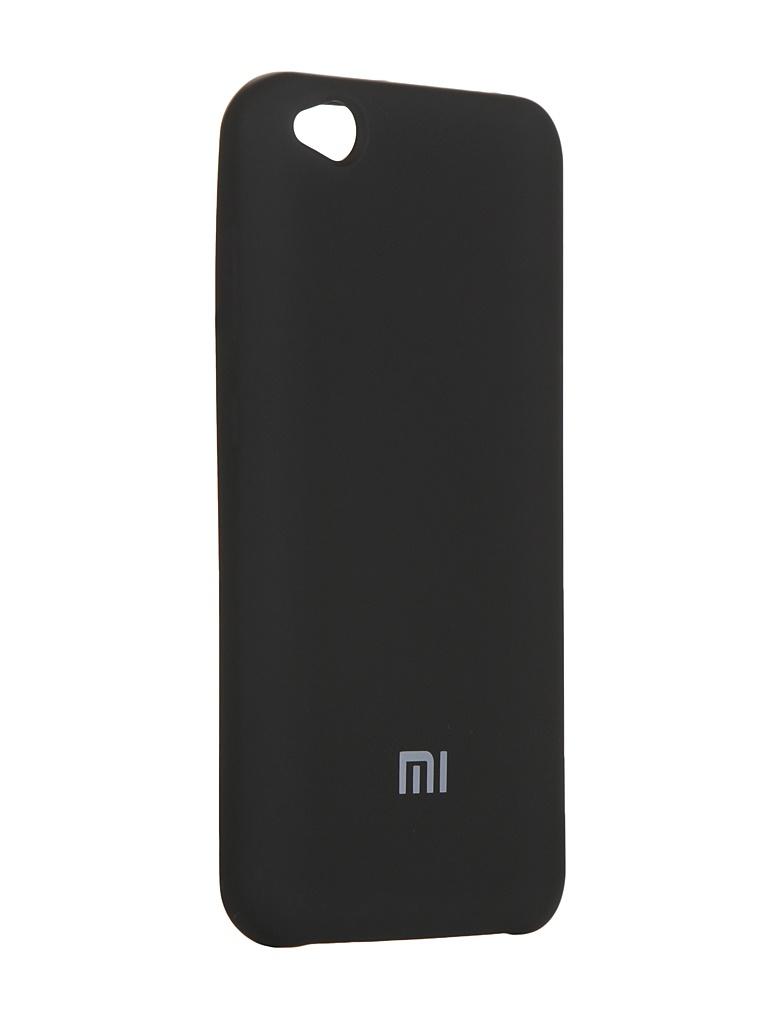 Купить Чехол Innovation для Xiaomi Redmi Mi Go Silicone Cover Black 15406
