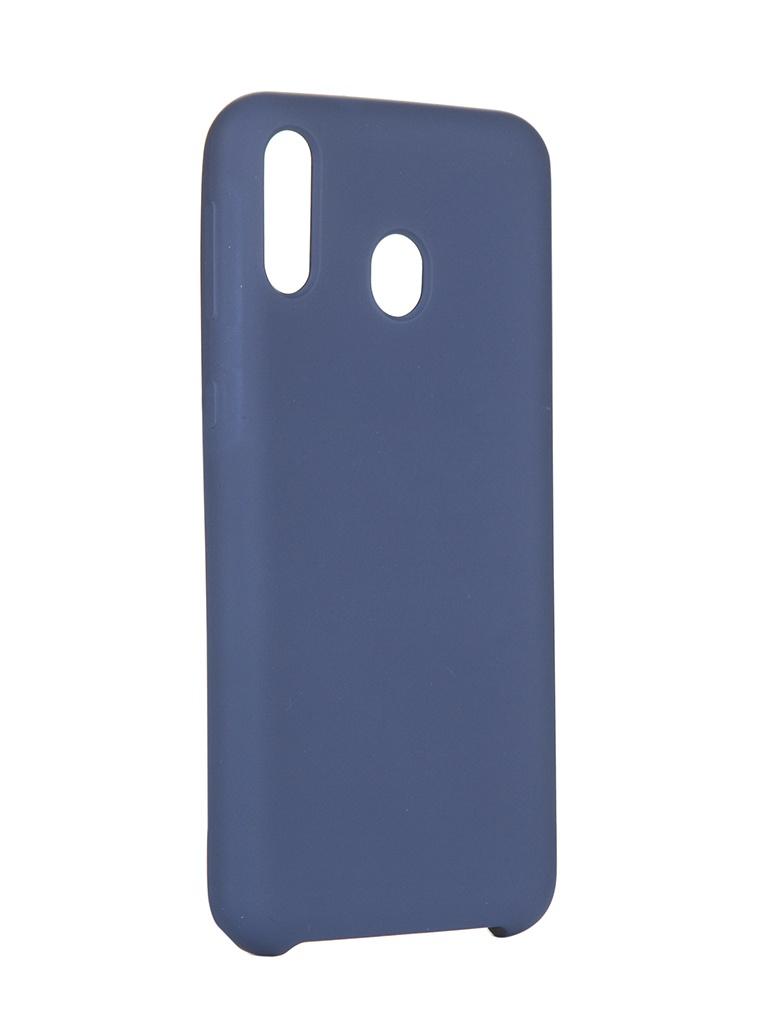Чехол Innovation для Samsung Galaxy M20 Silicone Cover Blue 15371