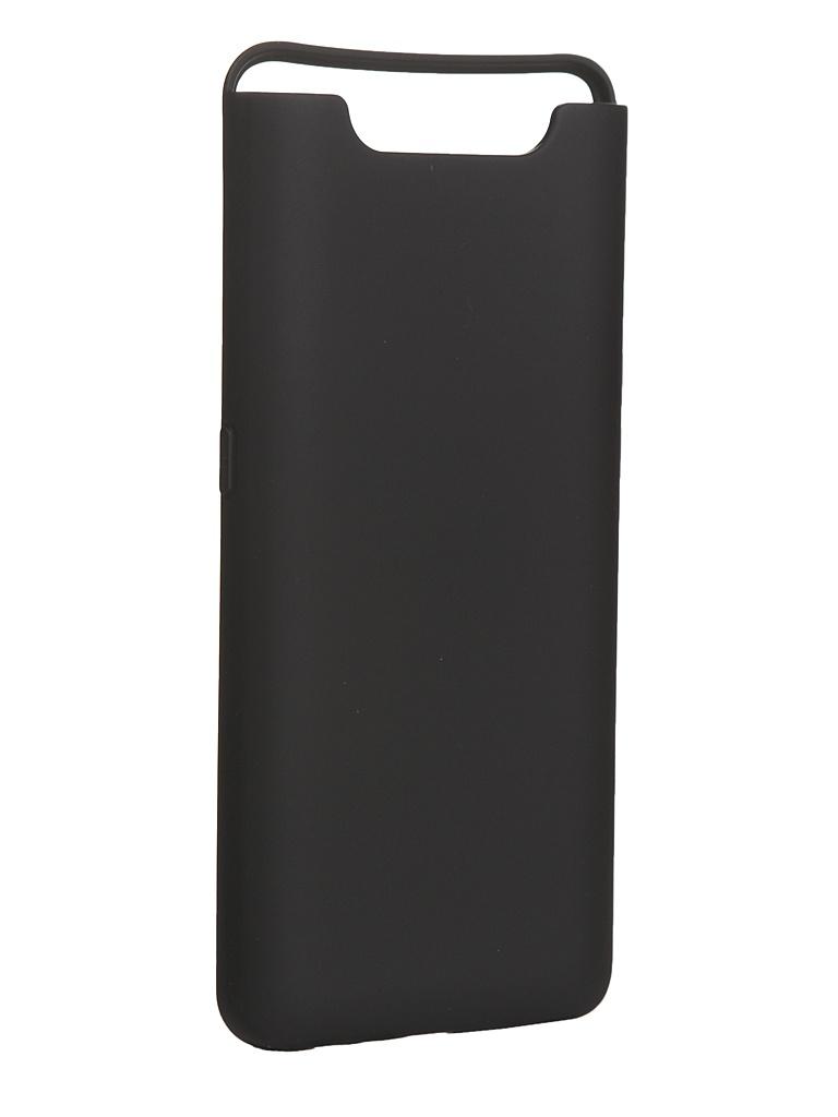 Чехол Innovation для Samsung Galaxy A80/A90 Silicone Cover Black 16540