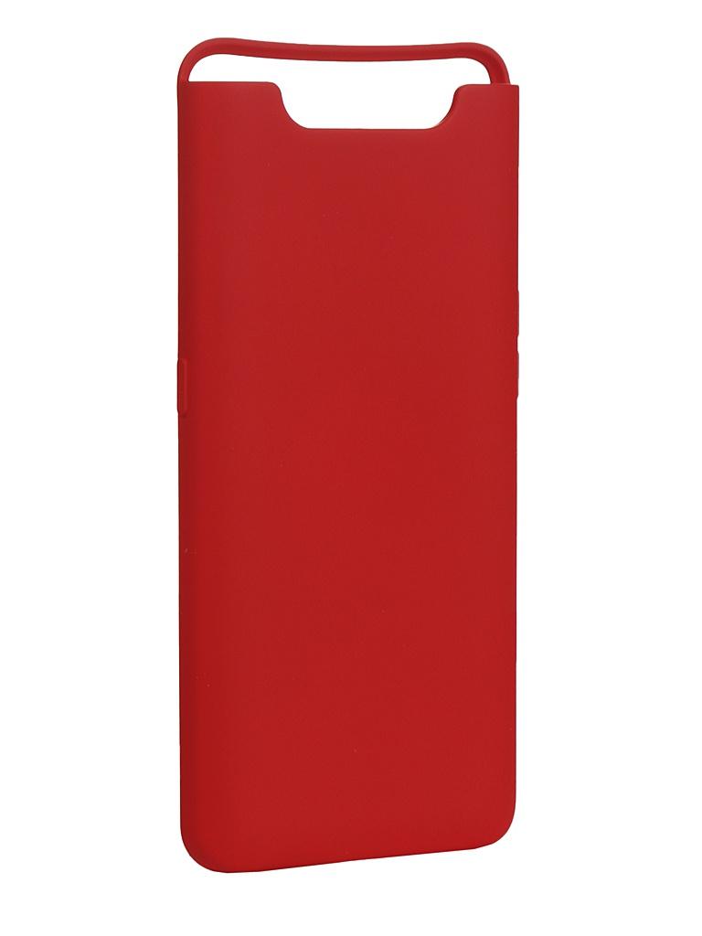 Чехол Innovation для Samsung Galaxy A80/A90 Silicone Cover Red 16538