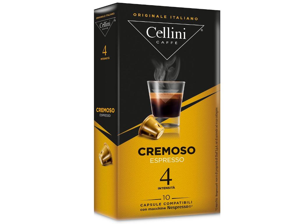 Капсулы Cellini Cremoso 10шт стандарта Nespresso