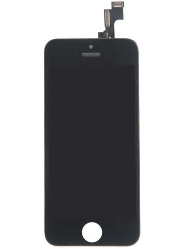 Купить Дисплей RocknParts для APPLE iPhone 5S в сборе с тачскрином Black 404248