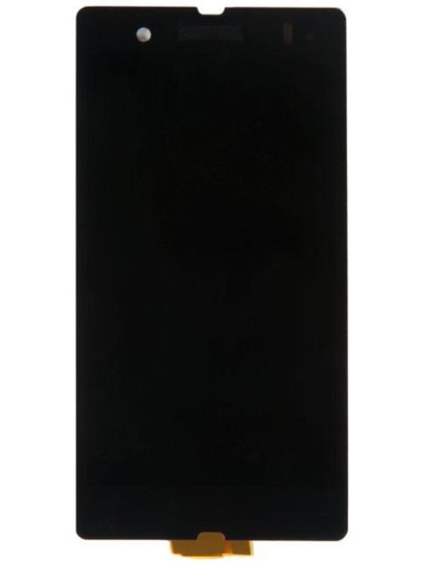 Дисплей RocknParts для Sony Xperia Z C6603 в сборе с тачскрином AAA Black 538101  - купить со скидкой