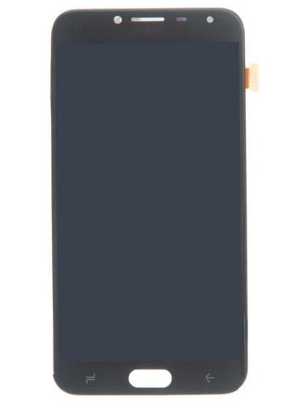 Дисплей RocknParts для Samsung Galaxy J4 J400 2018 AMOLED в сборе с тачскрином Black 634171  - купить со скидкой
