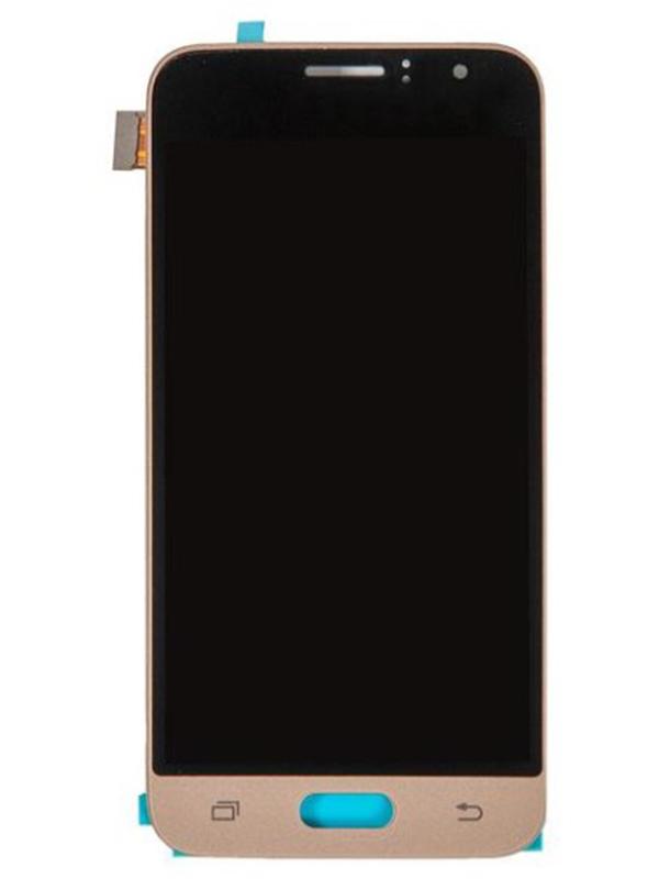 Купить Дисплей RocknParts для Samsung Galaxy J1 SM-J120F 2016 TFT в сборе с тачскрином Gold 658239