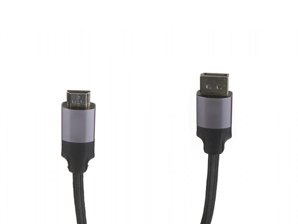 Аксессуар Baseus Enjoyment Series DisplayPort Male - HDMI 2m Dark Grey CAKSX-I0G