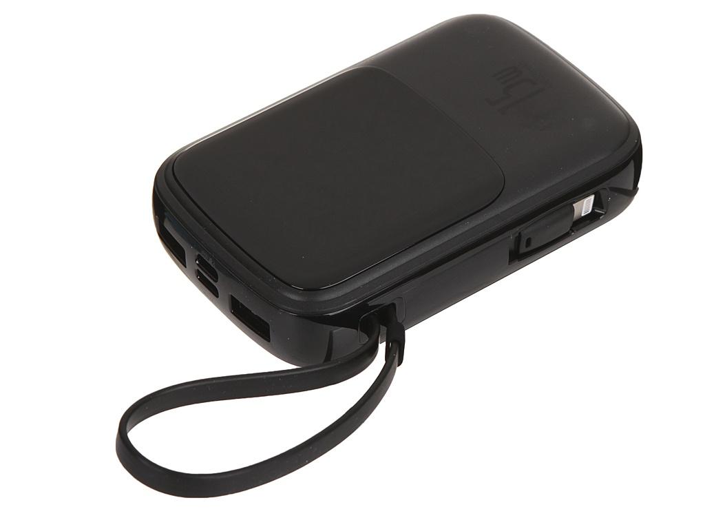 Внешний аккумулятор Baseus Power Bank Qpow Digital Display 3A 10000mAh Black PPQD-B01 внешний аккумулятор baseus ppall gp0r 10000mah rose gold розовое золото