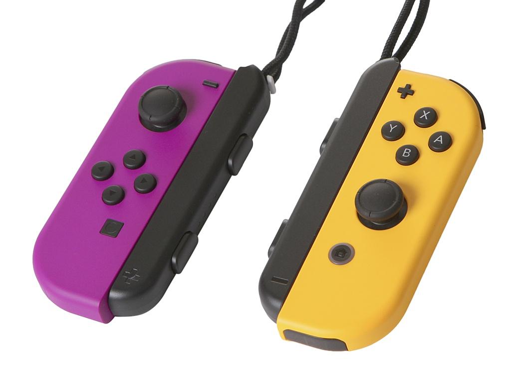 Контроллер Nintendo Joy-Con Neon Purple-Neon Orange