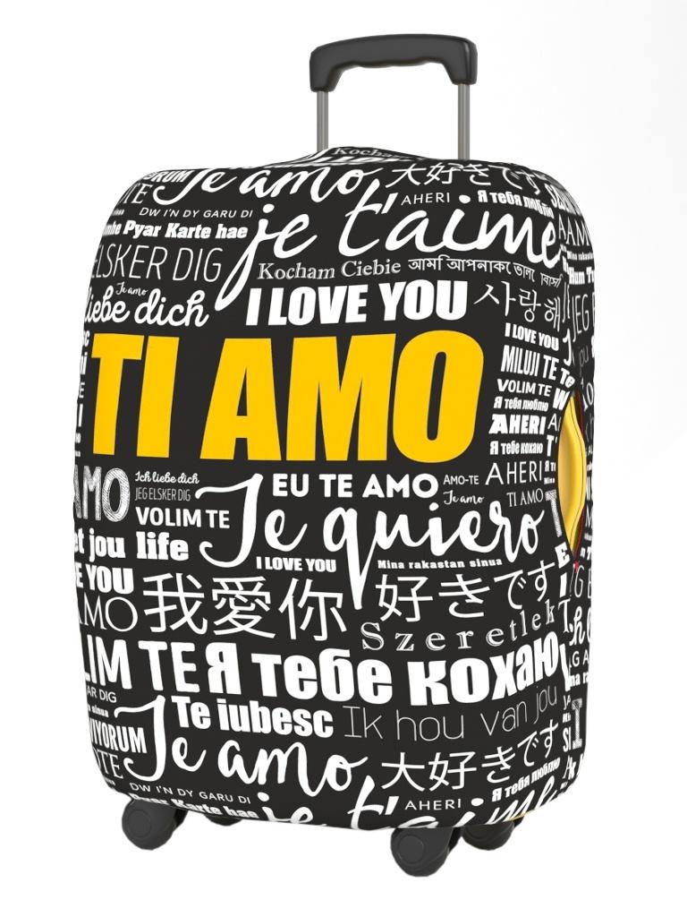 Чехол для чемодана Ratel Neoprene Happy Valentines Day размер L I love you
