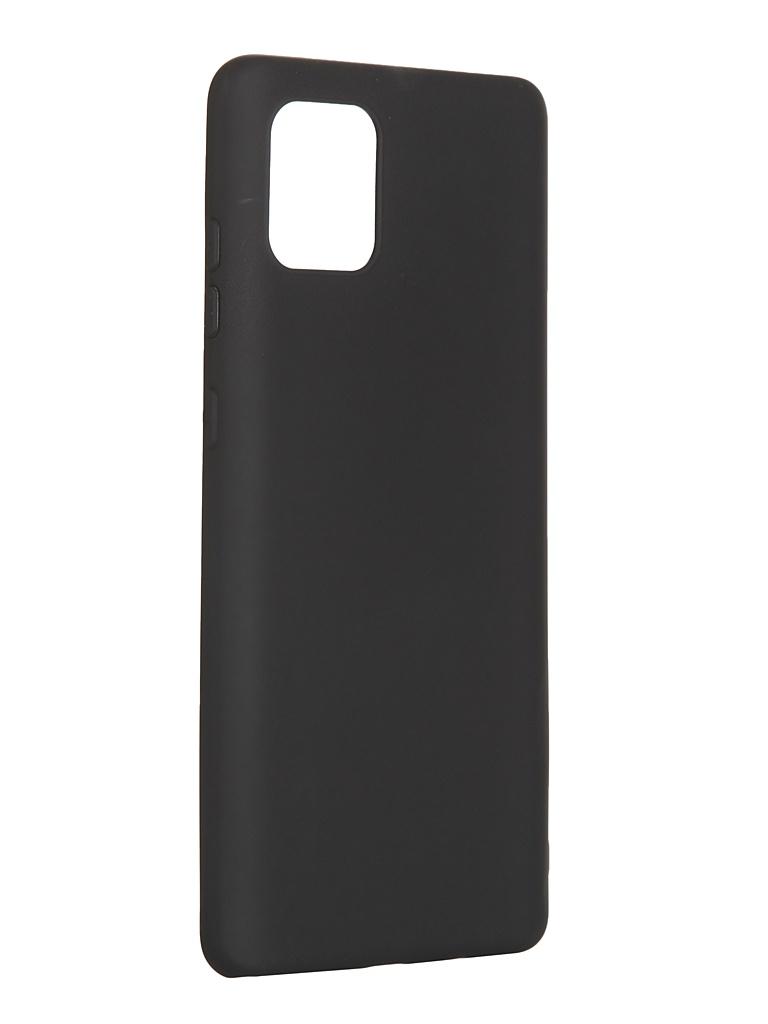 Чехол Pero для Samsung Galaxy Note 10 Lite Soft Touch Black CC01-N10LB