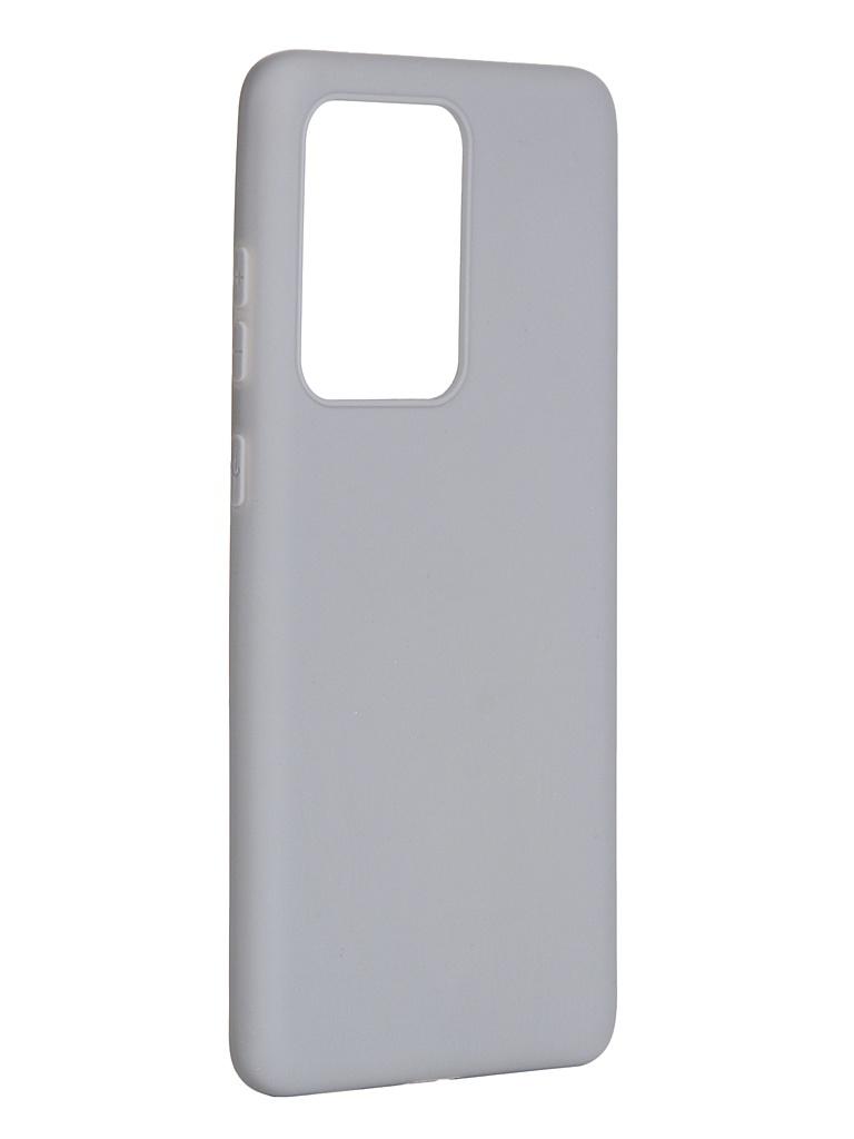 Чехол Pero для Samsung Galaxy S20 Ultra Soft Touch Grey CC01-S20UGR