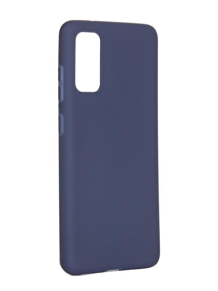 Чехол Pero для Samsung Galaxy S20 Soft Touch Blue CC01-S20BL