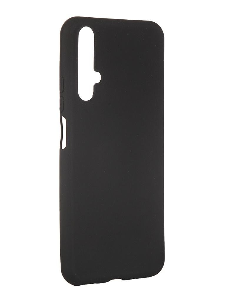 Чехол Pero для Huawei Nova 5T Soft Touch Black CC01-HN5TB