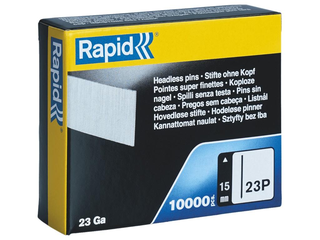 Гвозди Rapid 15mm тип 23P 10000шт 5001358