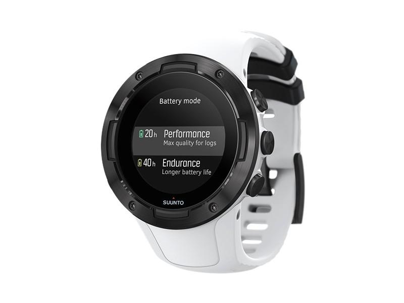 Часы Suunto 5 White-Black SS050446000, Финляндия  - купить со скидкой