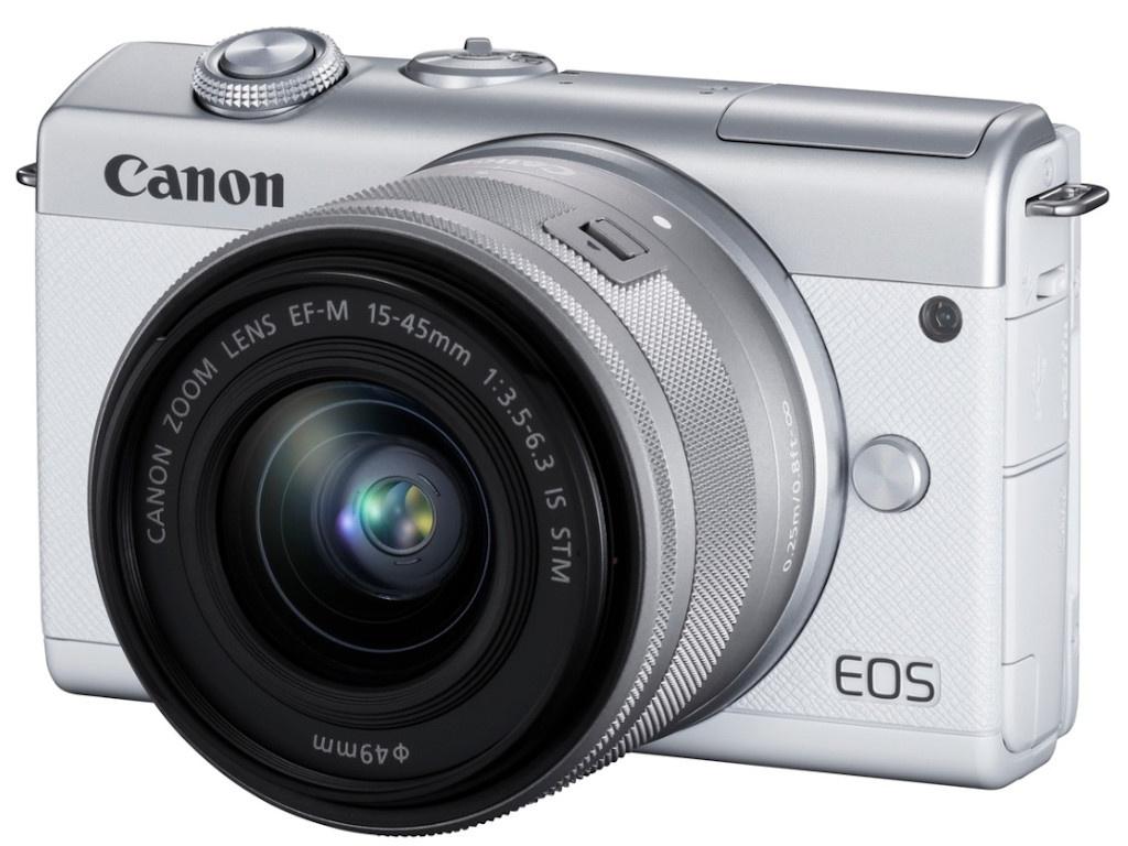 Фото - Фотоаппарат Canon EOS M200 Kit 15-45 IS STM White 3700C010 фотоаппарат canon eos m200 kit 15 45 is stm черный [3699c010]