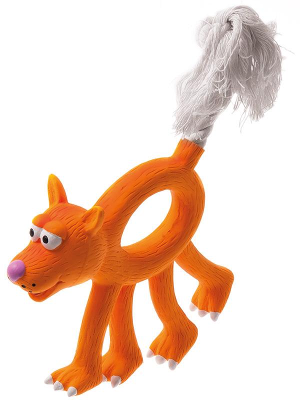 Купить Собака с канатным хвостом ZooOne 12см L-420