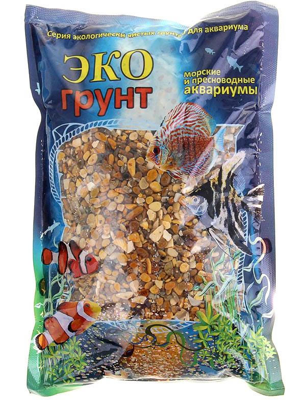 Галька Эко грунт Каспий №1 2-4mm 1kg 460019