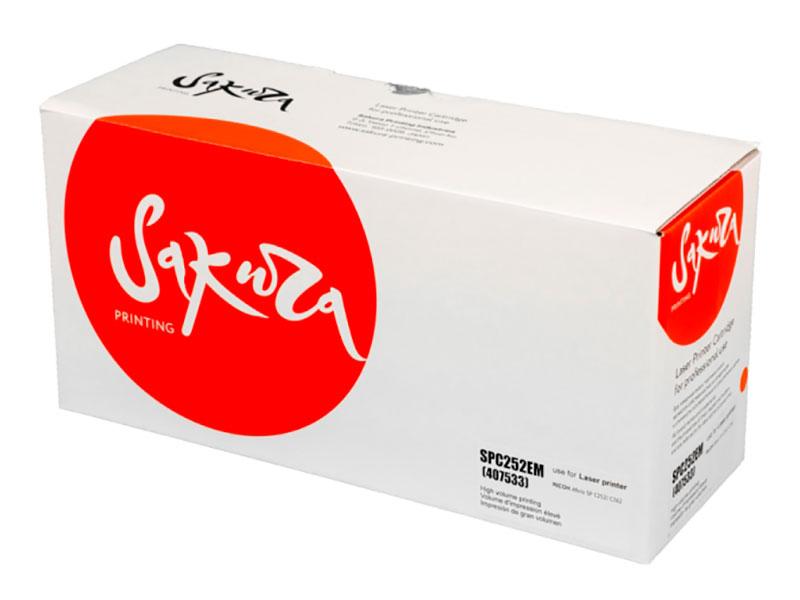 Купить Картридж Sakura SPC252EM Magenta 407533 для Ricoh SP C252DN/C252SF/C262DNw/C262SFNw 4000k, SASPC252EM