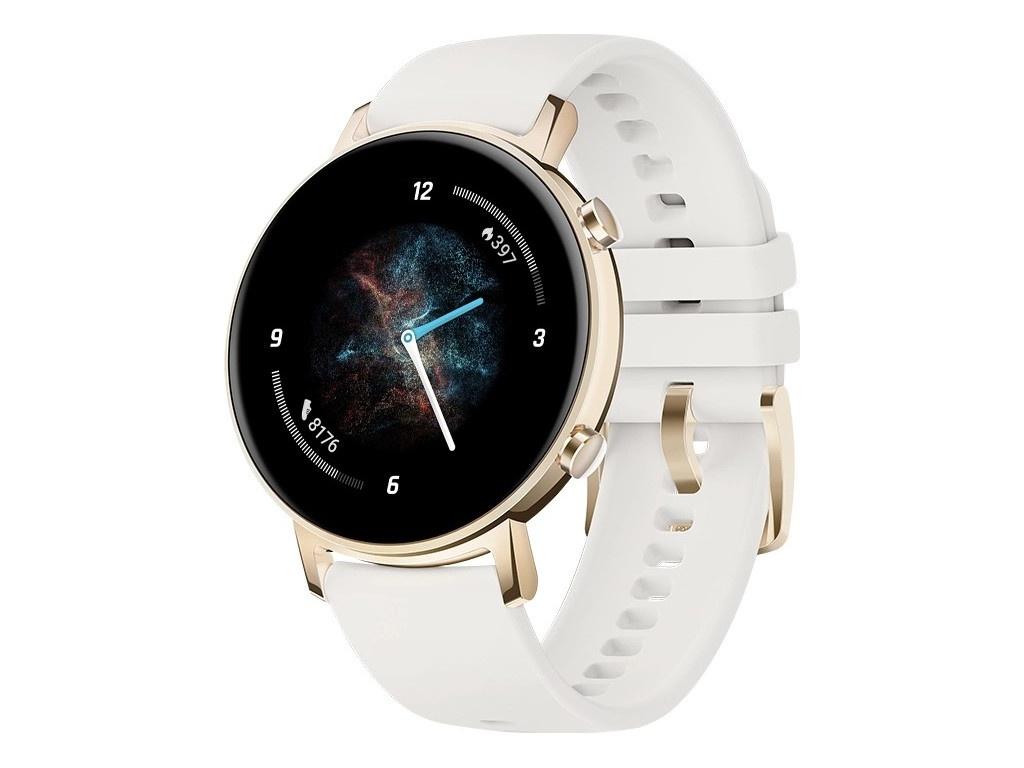 Умные часы Huawei Watch GT 2 42mm Diana-B19J Champagne/White 55025326 умные часы huawei watch steel mesh mesh серебряная сталь 42mm