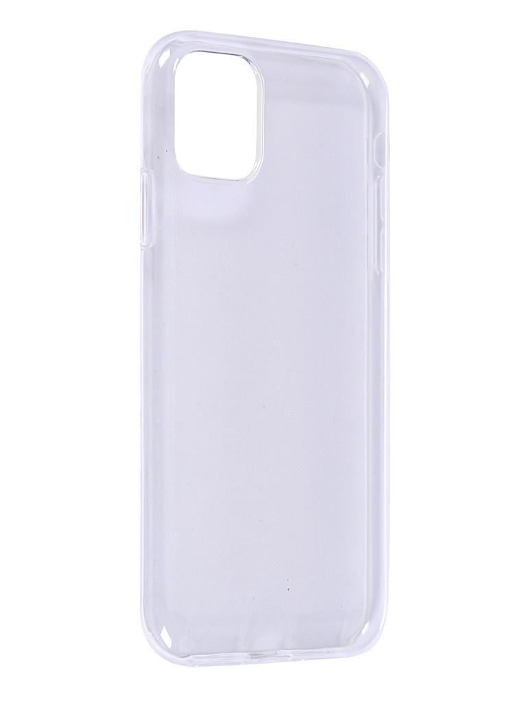 Чехол iBox для APPLE iPhone 11 Crystal Silicone Transparent УТ000018379