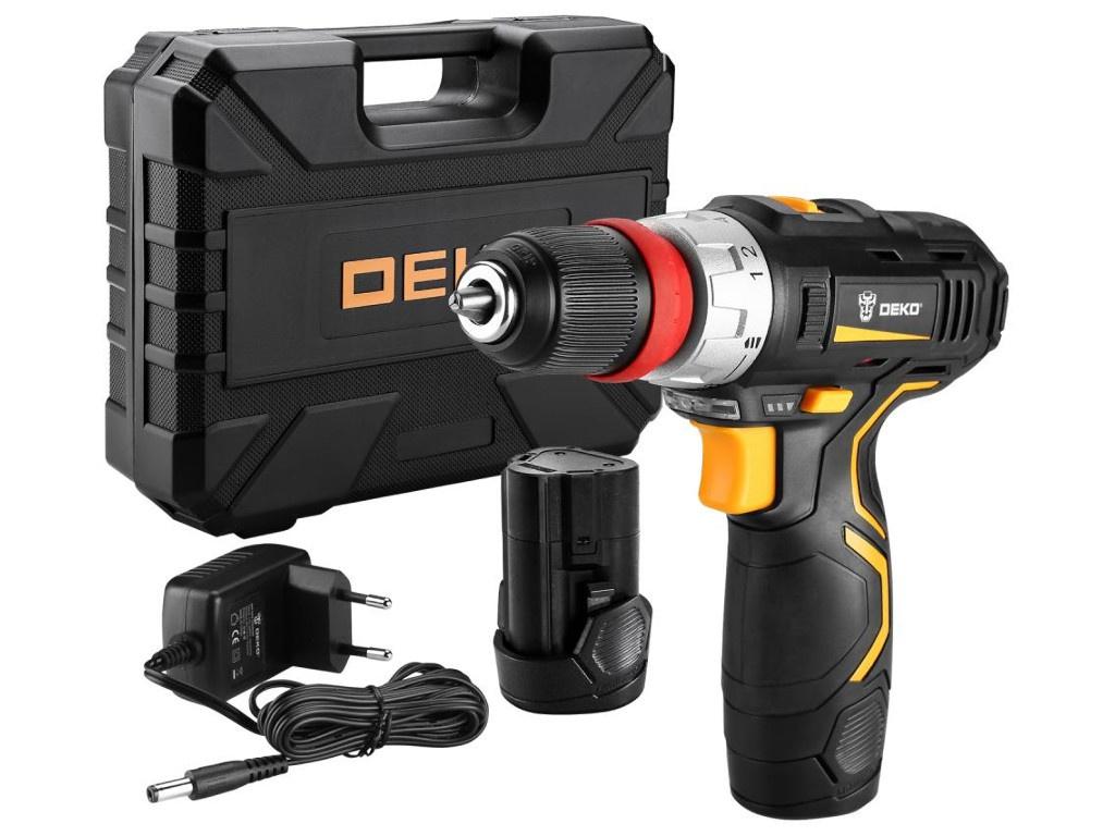 Фото - Электроинструмент Deko GCD12DU3 063-4082 электроинструмент deko gcd12du3 ser 4 в кейсе оснастка 13 шт 063 4140